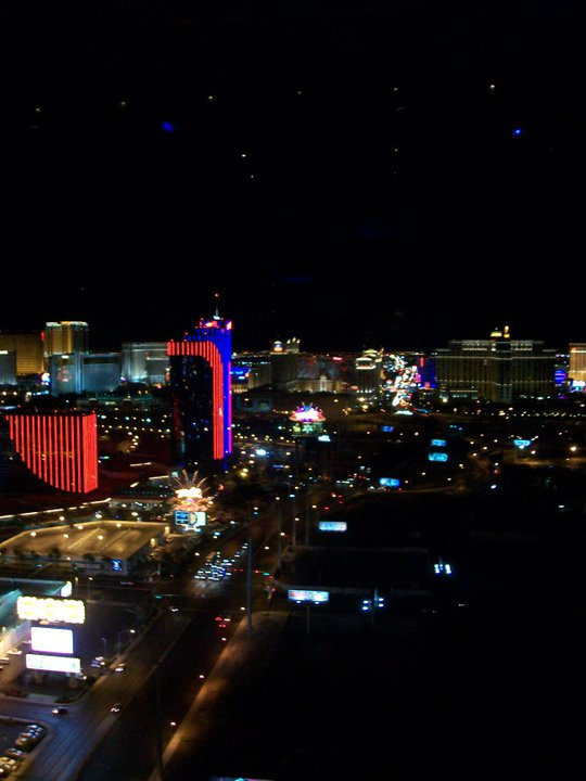 View of the strip