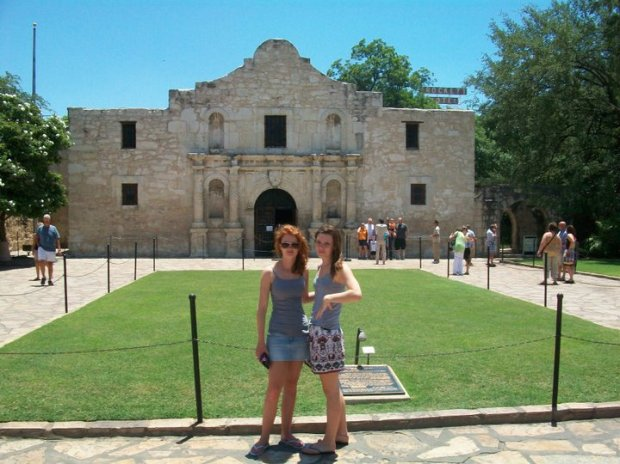 Visit to The Alamo