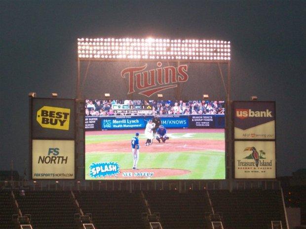 Minnesota Baseball game