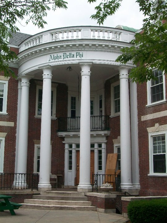 A sorority house at the University of Rochester