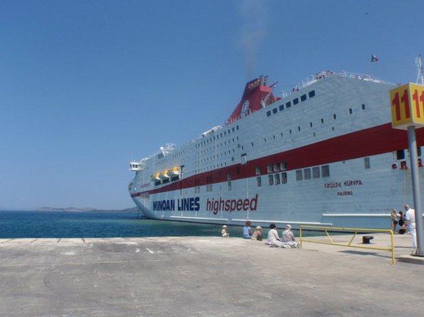 Overnight Ferry to Greece