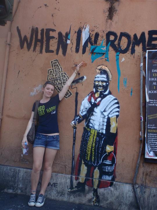 Exploring Rome!