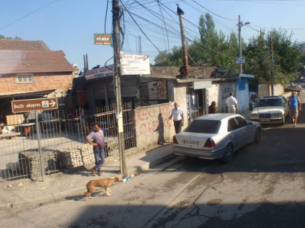 Local street of Tirana