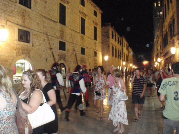 Evening tour of Dubrovnik