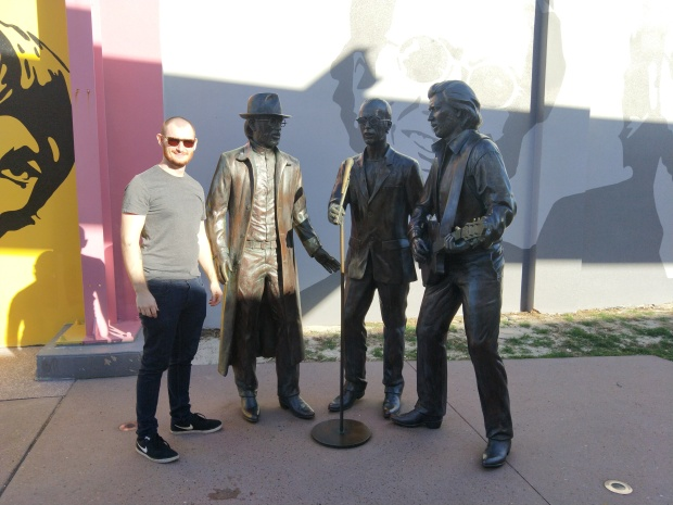 Bee Gees Way | day trip to Redcliffe